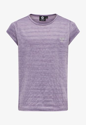 Print T-shirt - chinese violet
