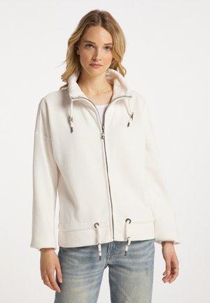 Zip-up sweatshirt - creme