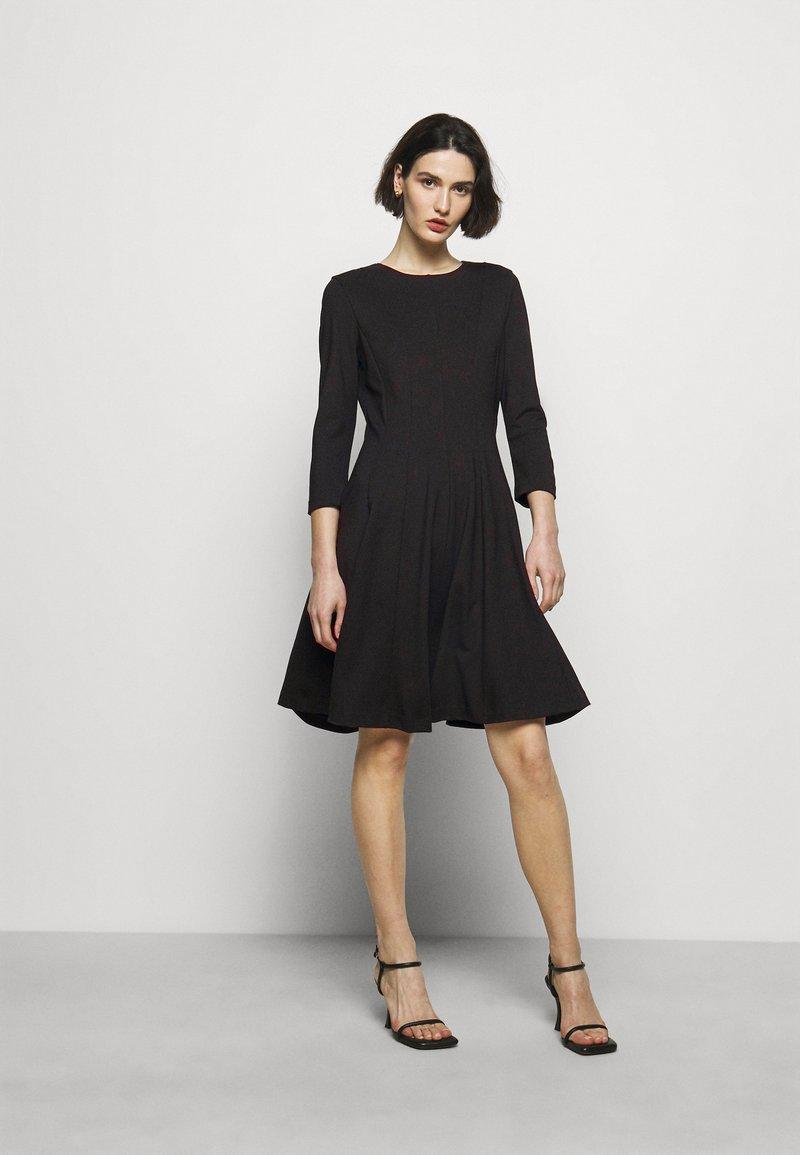 HUGO - DIAMANDA - Sukienka z dżerseju - black