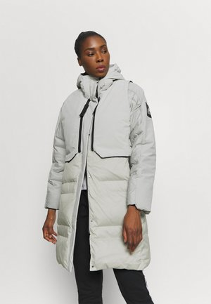 MYSHELTER URBAN COLD - Down coat - metgry/white