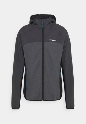 DONGOLA - Soft shell jacket - granite