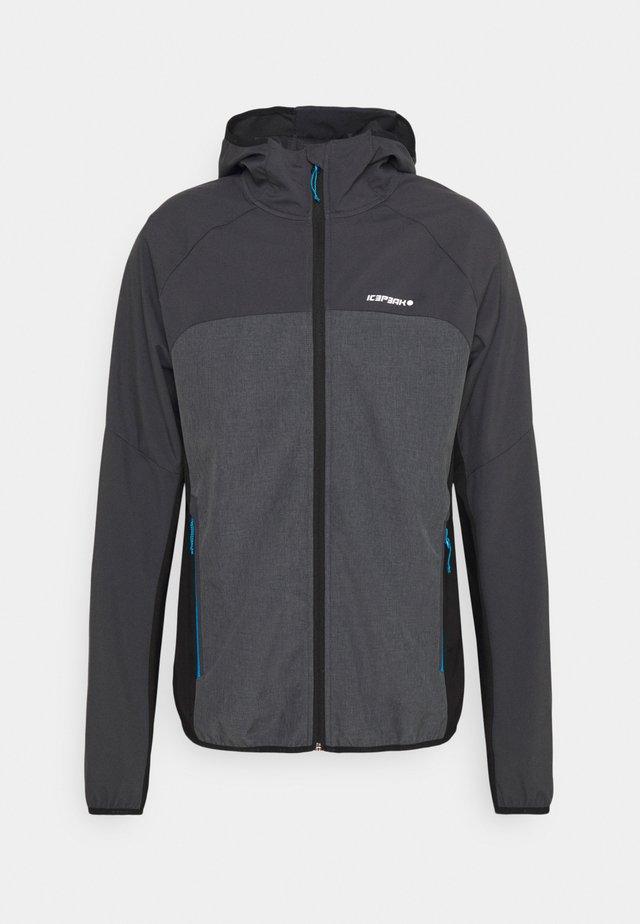 DONGOLA - Soft shell jacket - granite
