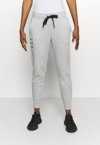 Under Armour - RIVAL PANTS - Tracksuit bottoms - steel medium heather - 0