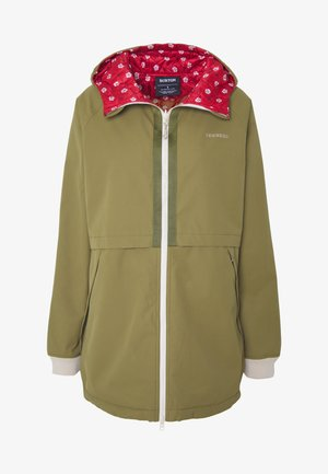 MOONDAZE - Kurtka Outdoor - olive