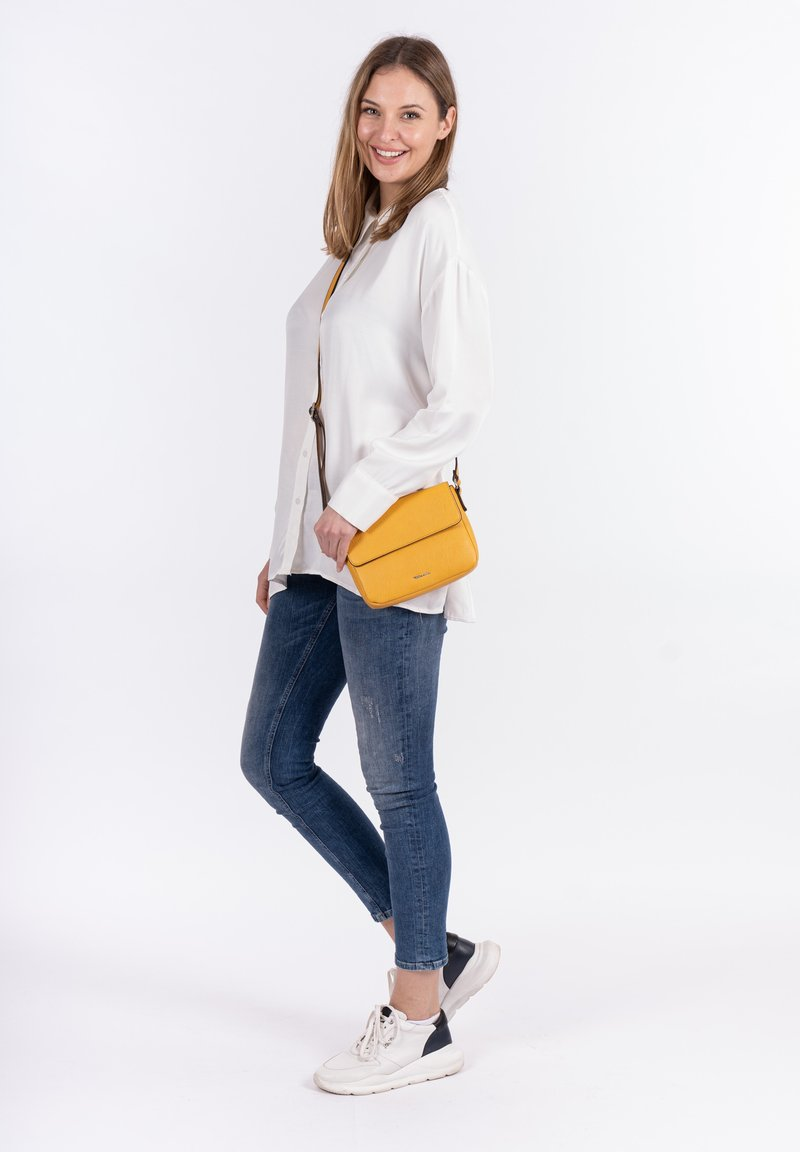 Tamaris - ALESSIA - Across body bag - yellow