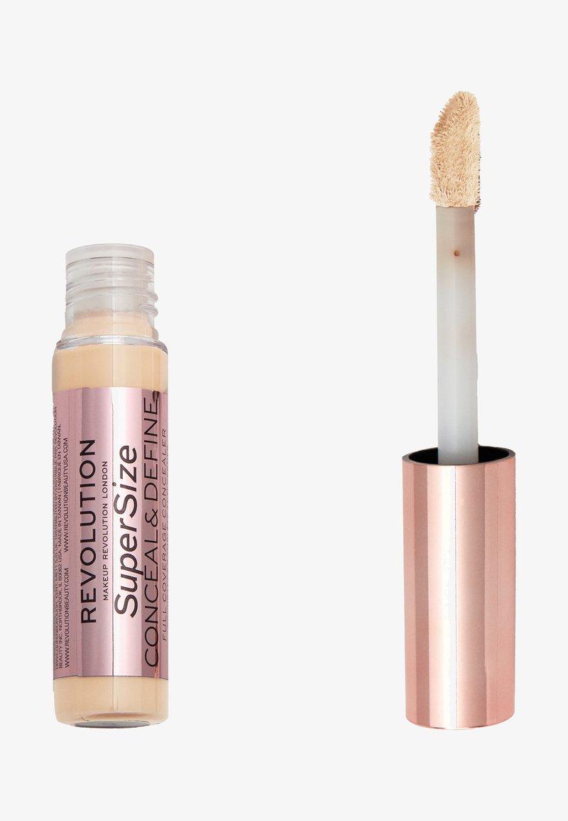 Make up Revolution - CONCEAL & DEFINE SUPERSIZE CONCEALER - Concealer - c7