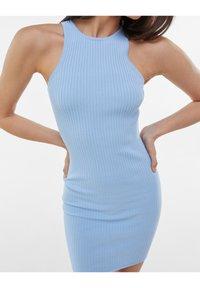 Bershka - Jumper dress - light blue - 3