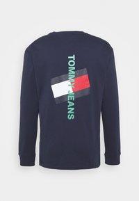 Tommy Jeans - LOGO TEE UNISEX - Långärmad tröja - twilight navy - 6