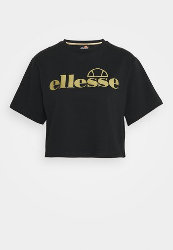 PRESEPE - T-shirt print - black