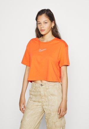 CROP TEE  - T-shirt basique - orange