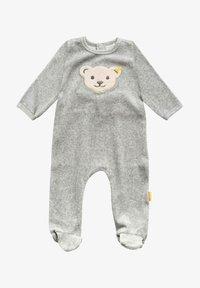 Steiff Collection - NICKY - Sleep suit - soft grey melange - 0