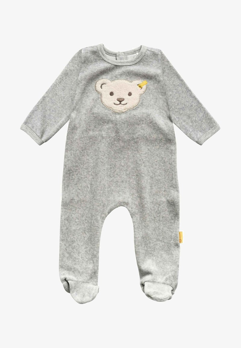 Steiff Collection - NICKY - Sleep suit - soft grey melange