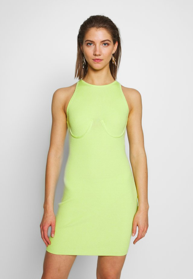 SAFFIE - Day dress - lime