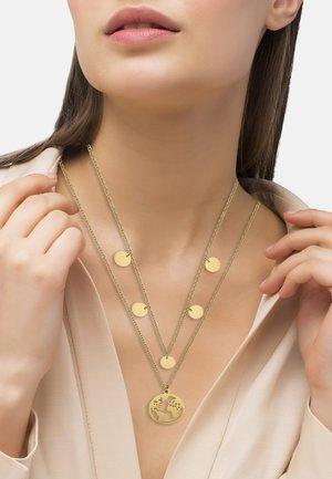 MIT WELTKUG - Necklace - goldfarben