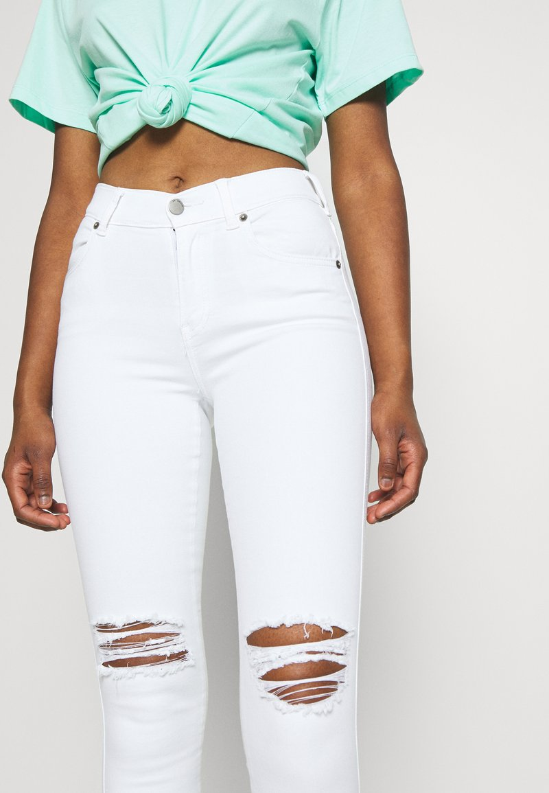 Dr.Denim Petite LEXY - Jeans Skinny Fit - white/white denim bNSIR3