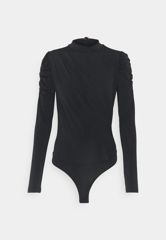 VMKALISA - Bluzka z długim rękawem - black