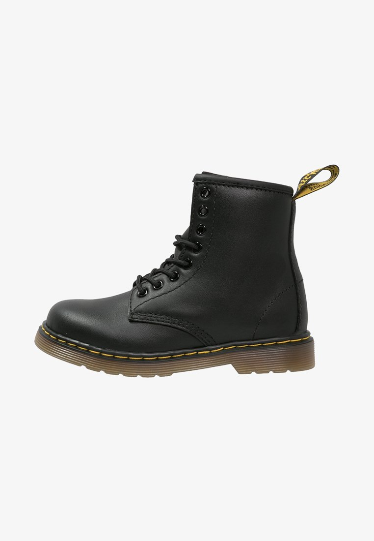 Dr. Martens - 1460 J Softy - Lace-up ankle boots - black