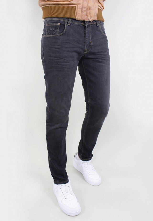 BERGAMO - Jeans Tapered Fit - dark grey