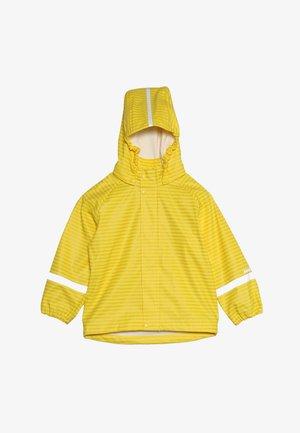 VESI - Waterproof jacket - vintage gold