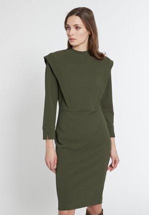 ELMYA - Shift dress - oliv