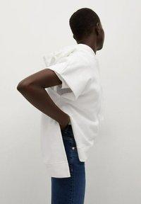 Mango - Print T-shirt - blanc - 3