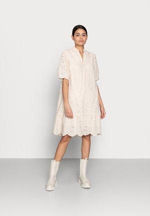 GELEKSA DRESS - Day dress - creme