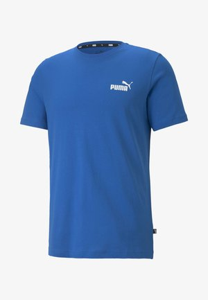 ESS SMALL LOGO TEE - T-shirt basic - dark blue