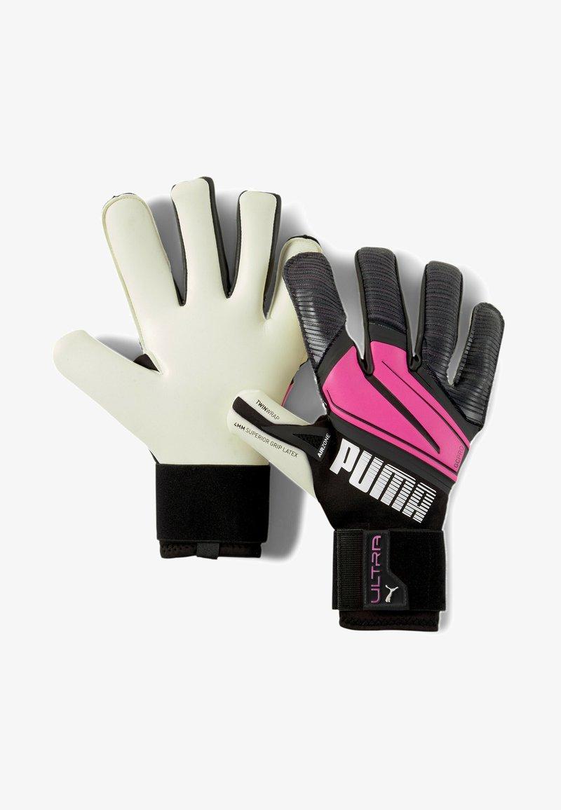 Puma - Goalkeeping gloves - luminous pink-black