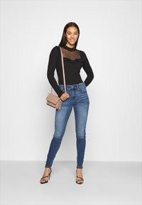 ONLY - ONLSOPHIA FLOUNCE - Long sleeved top - black - 1