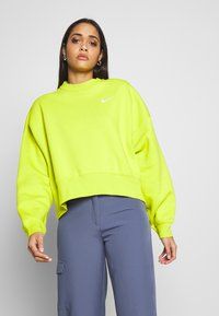 Nike Sportswear - CREW TREND - Sweatshirt - bright cactus - 0