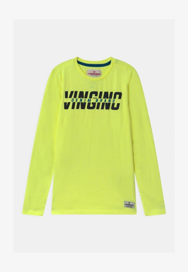JAILON - Långärmad tröja - flash yellow