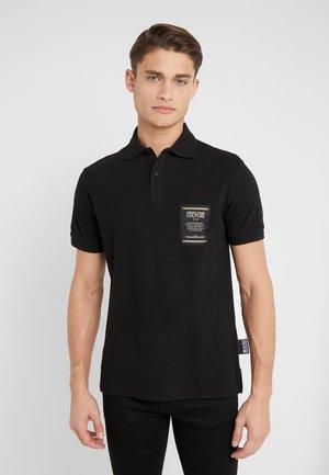 LABEL POLO - Poloshirt - black