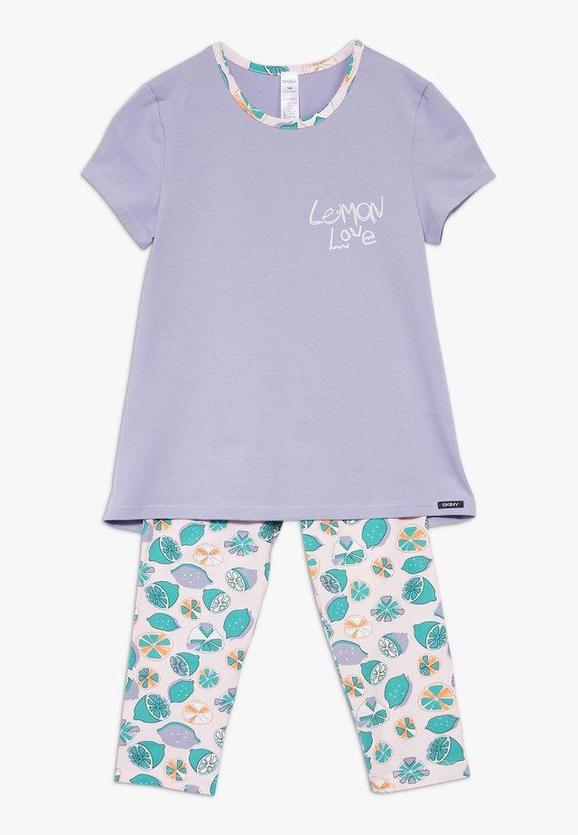 COSY NIGHT SLEEP GIRLS SET - Pyžamová sada - lilac