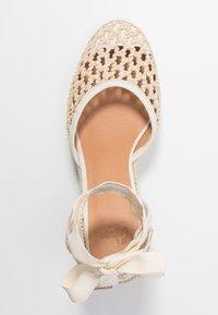 Castañer - CAROLA  - High heeled sandals - natural - 3