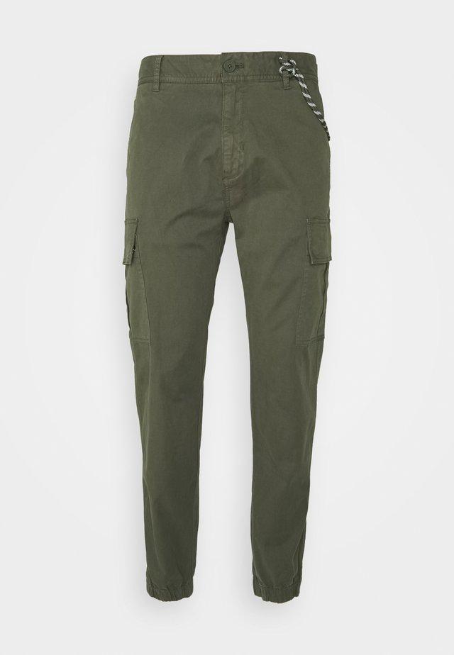 Cargo trousers - deep depth