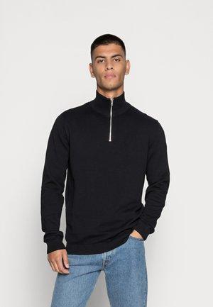 JJEBASIC - Stickad tröja - black