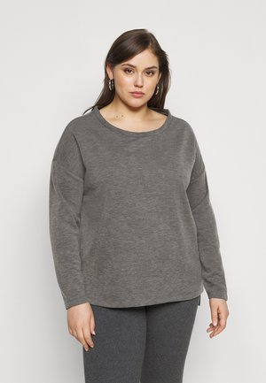 VMAMAIMARCO O NECK - Jumper - medium grey melange
