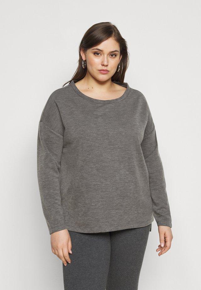 VMAMAIMARCO O NECK - Jersey de punto - medium grey melange
