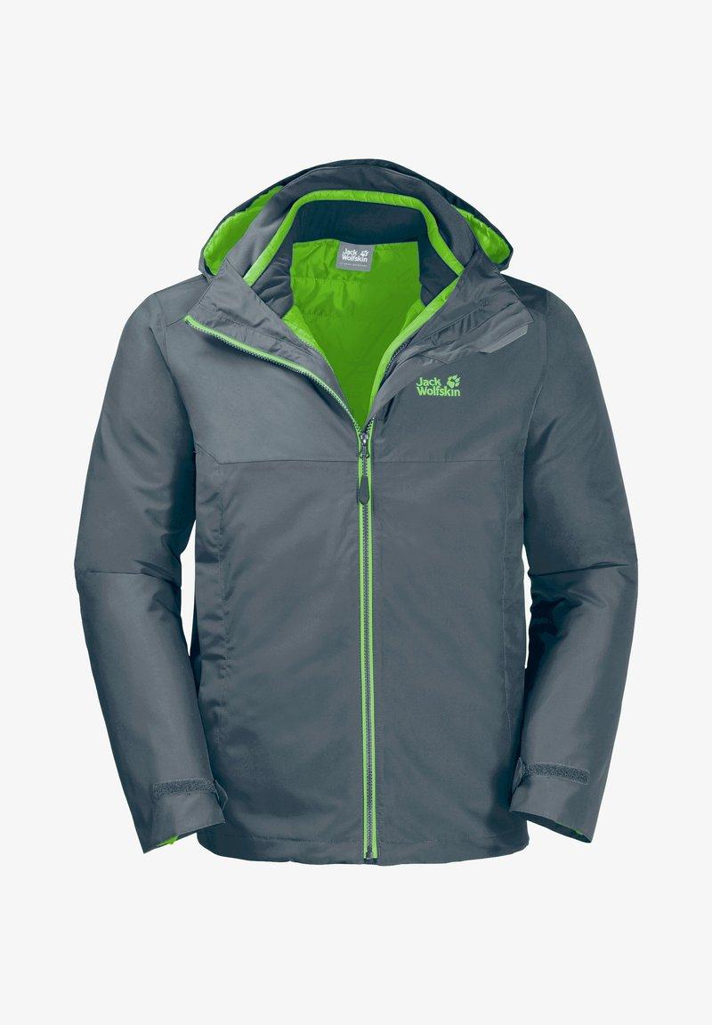 Jack Wolfskin - 3-IN-1 - Winter jacket - storm grey
