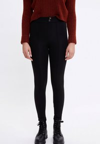 DeFacto - Leggings - Trousers - black - 0