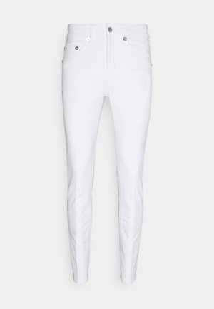 SUPER REGULAR RISE  - Jeans Skinny Fit - white