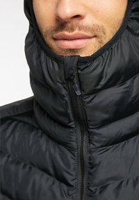 Haglöfs - SÄRNA MIMIC HOOD - Winter jacket - true black - 2