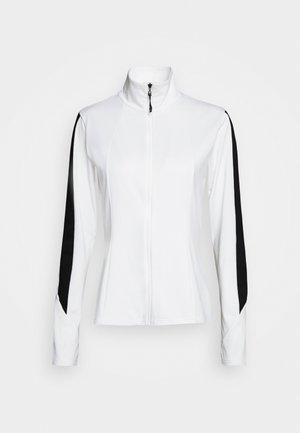ELLEN - Fleecová bunda - blanc