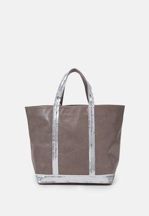 CABAS MOYEN - Handbag - gris clair