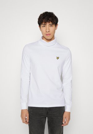 ROLL NECK - Long sleeved top - white