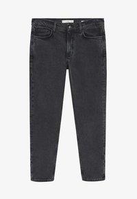 Mango - Jeans Tapered Fit - black denim - 6