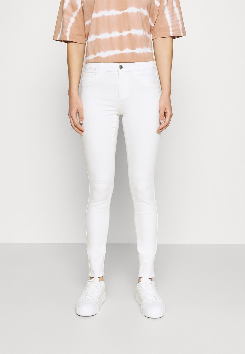 ONLY - ONLRAIN LIFE - Jeans Skinny Fit - ecru