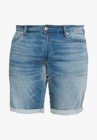 Jack & Jones - JJIRICK JJICON  - Denim shorts - blue denim - 4