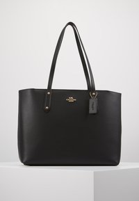 Coach - CENTRAL TOTE WITH ZIP - Tote bag - black - 0