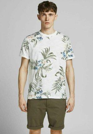 BOTANIK - T-shirt print - blanc de blanc
